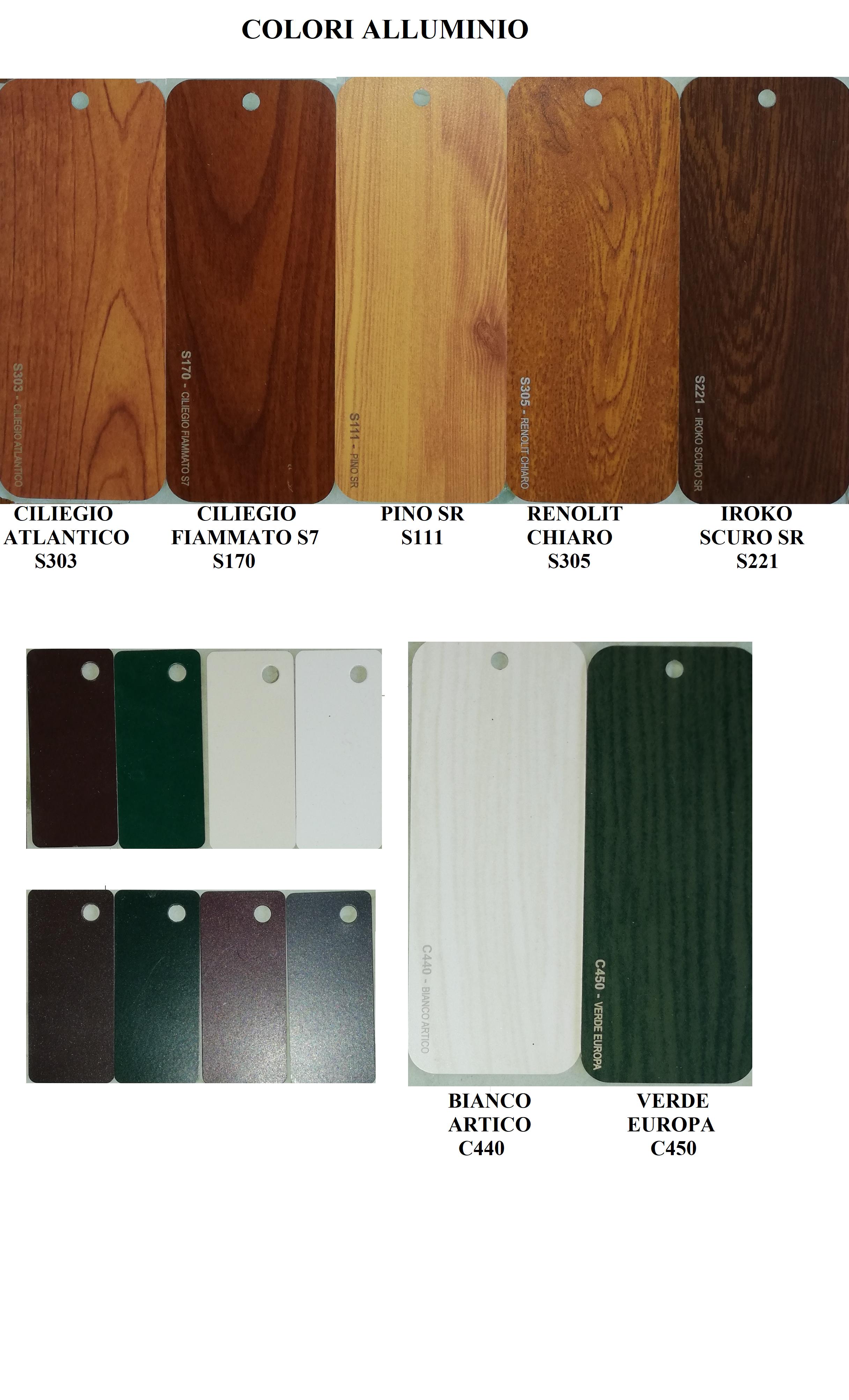 Colori Infissi In Alluminio infissi in alluminio - rodolico infissi